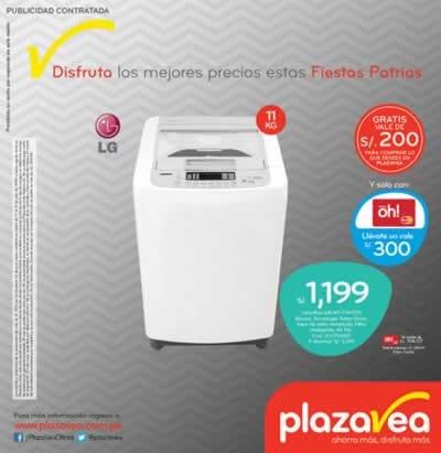 plaza vea catalogo ofertas fiestas patrias 2015