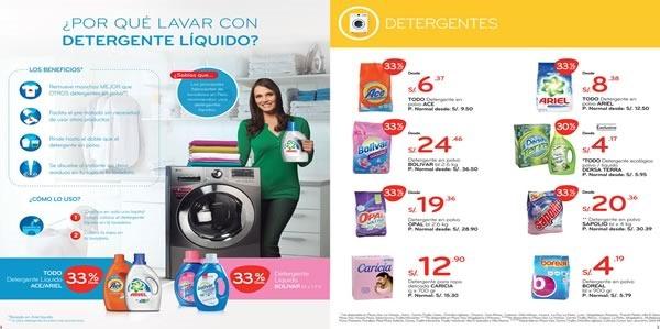 plaza vea catalogo ofertas lavado de ropa agosto 2015 - 01