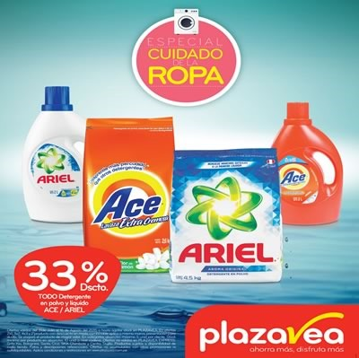 plaza vea catalogo ofertas lavado de ropa agosto 2015
