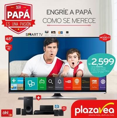 plaza vea catalogo ofertas vigentes dia del padre 2015