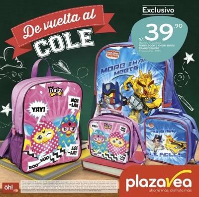 plaza vea catalogo vuelta al cole 2015