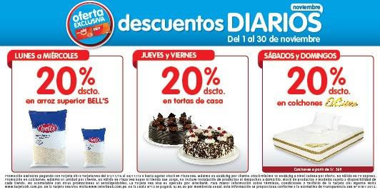 plaza vea descuentos diarios noviembre 2013 peru