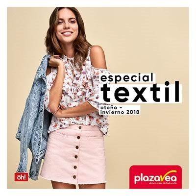plaza vea especial textil oi 2018