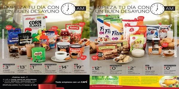 plaza vea ofertas en desayunos agosto 2015 - 01