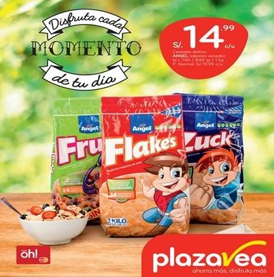 plaza vea ofertas en desayunos agosto 2015