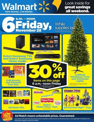 post black friday 2014 walmart usa