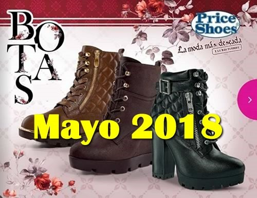 price shoes botas mayo 2018