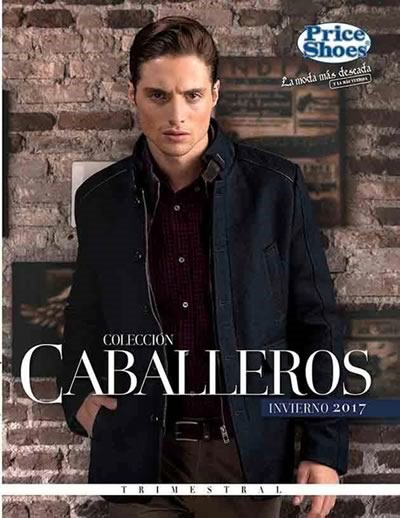 price shoes caballeros invierno 2017