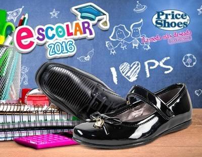 price shoes catalogo escolar 2016