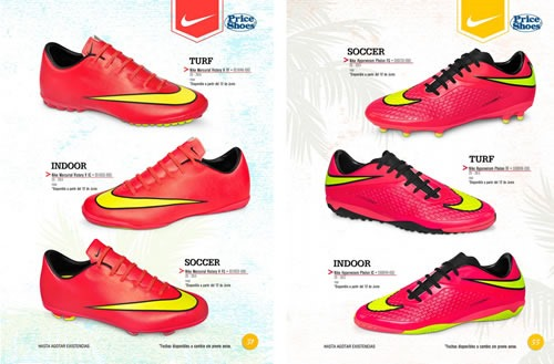 price shoes catalogo lanzamiento mundial brasil 2014