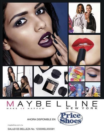 price shoes maybelline 2017