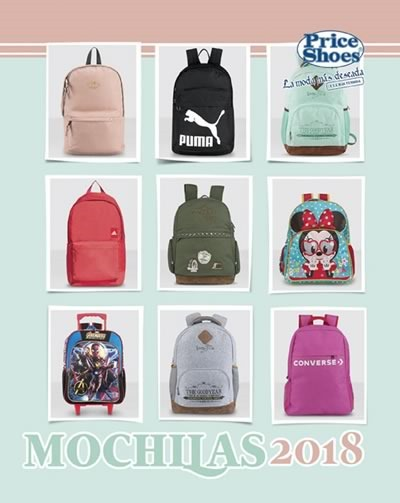 price shoes mochilas 2018