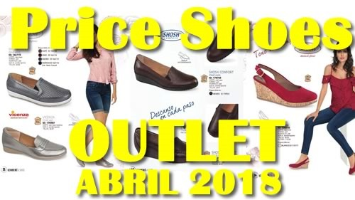 price shoes outlet dama abril 2018