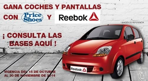 price shoes reebok concurso 2014