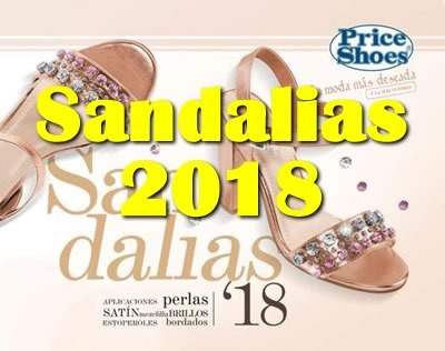price shoes sandalias 2018
