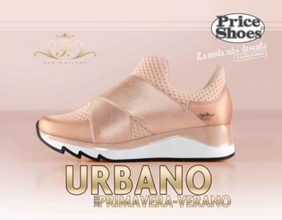 price shoes urbano pv 2018