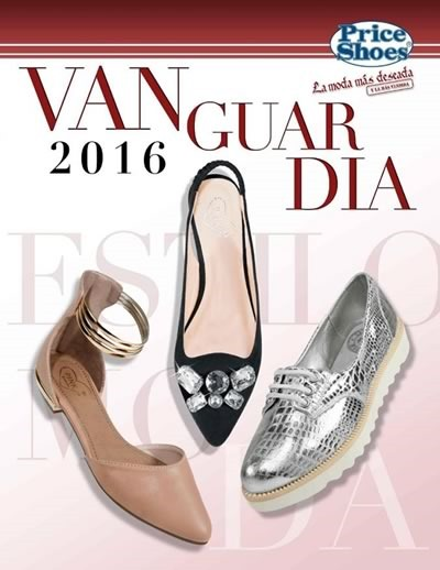 9e36aab034 Catálogo Price Shoes  Calzado de Vanguardia 2016