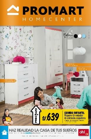 promart homecenter ofertas muebles septiembre 2014