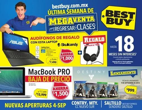 rebajas best buy tecnologia megaventa regreso a clases 2014