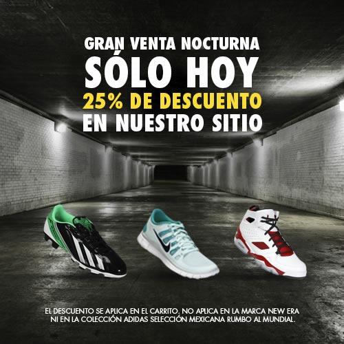 rebajas calzado netshoes gran venta nocturna 28 noviembre 2013