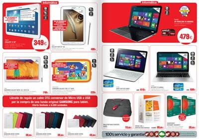 rebajas el corte ingles 2014 electronica enero tablets