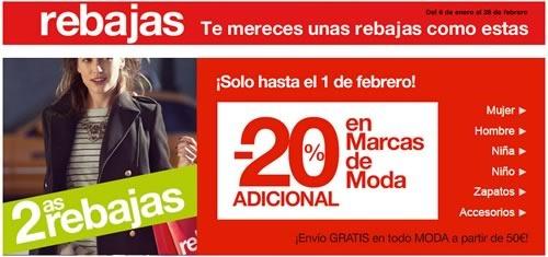 rebajas el corte ingles 28 enero al 1 febrero 2015 espana