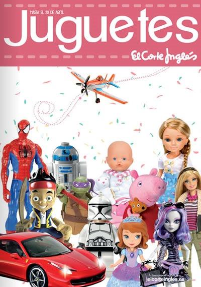 rebajas juguetes el corte ingles abril 2014