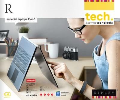 ripley catalogo laptops 2 en 1 agosto 2015 peru