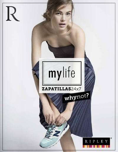 ripley catalogo zapatillas julio 2014
