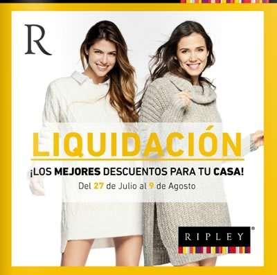 ripley liquidacion julio agosto 2015 peru