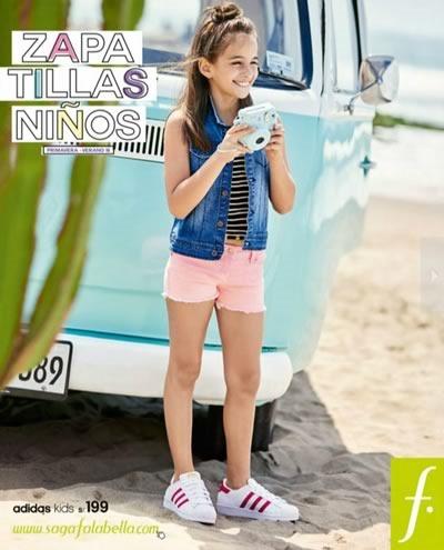 saga falabella zapatillas ninos primavera verano 2015