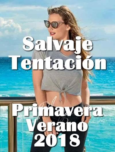 salvaje tentacion lookbook pv 2018