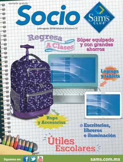 sams club catalogo utiles escolares regreso a clases 2014 mexico
