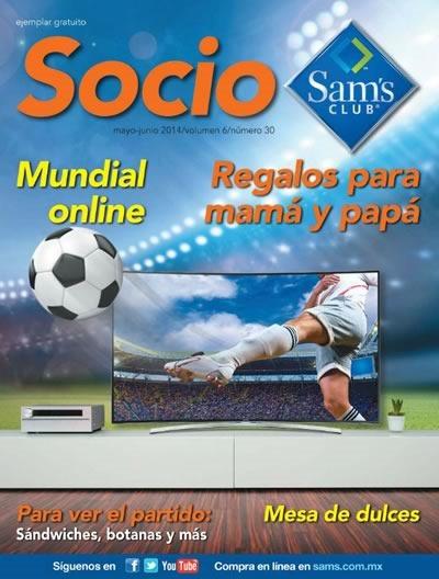 sams club revista socio mayo junio 2014