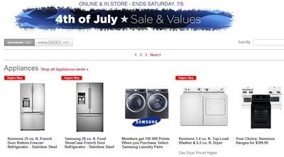 sears sale 4 julio 2014