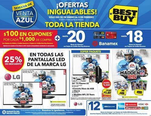 semana venta azul best buy febrero 2014