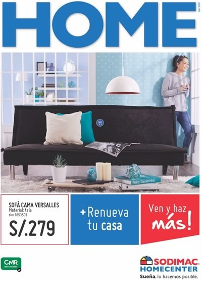 Sodimac homecenter lima cat logo de ofertas del mes de for Muebles peru catalogo