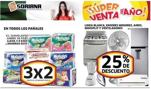 soriana super venta del ano hasta 14 julio 2014