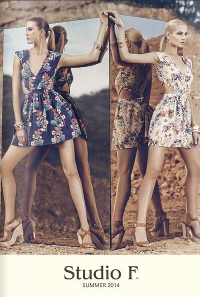 studio f catalogo moda summer 2014