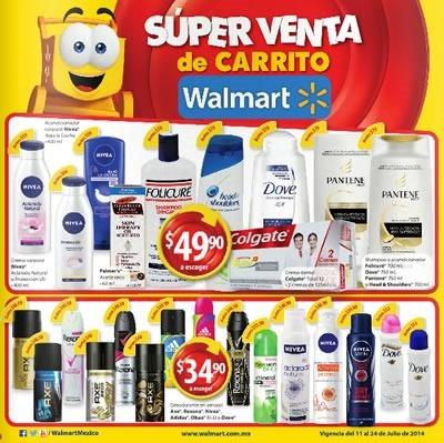 super venta de carrito walmart 24 julio 2014