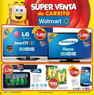 super venta de carrito walmart mayo 2014