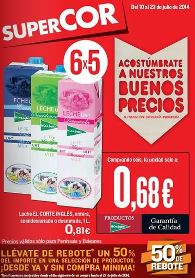 supercor catalogo ofertas 23 julio 2014