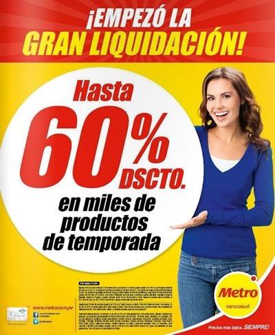 supermercado metro catalogo gran liquidacion julio 2015