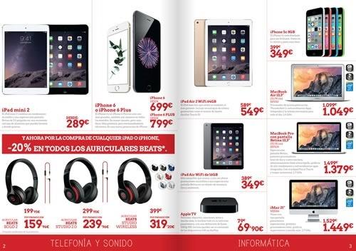 tablets baratas en el corte ingles catalogo online julio 2015 espana - 01