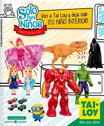 tai loy catalogo juguetes dia del nino agosto 2015