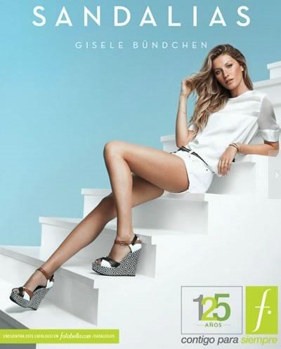 tendencia moda sandalias 2015 catalogo sandalias falabella chile