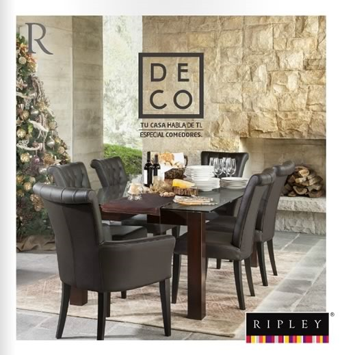 tendencias moda decoracion navidad catalogo deco ripley nov 2014