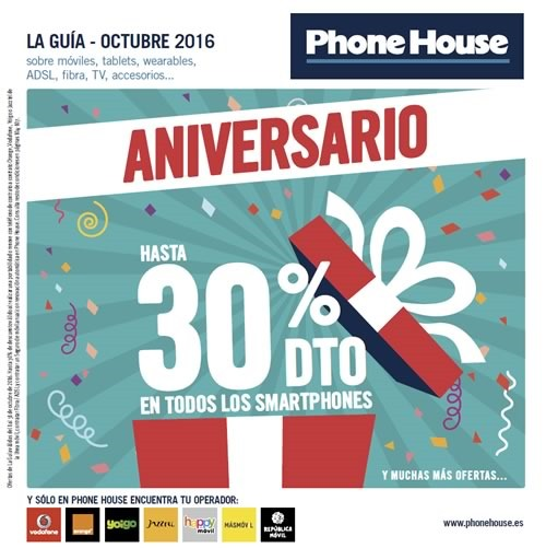 the phone house madrid catalogo ofertas octubre 2016