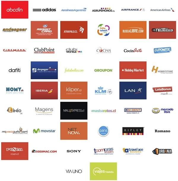 tiendas participantes cyber monday 2014 chile
