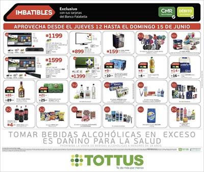 tottus 4 dias de ofertas imbatibles junio 2014
